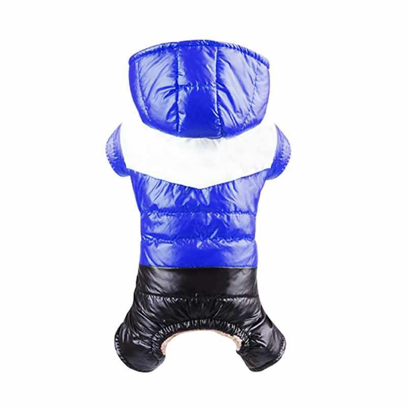 Tahan Air Tahan Dr Anjing Kostum Windproof PET Hangat Musim Dingin Parka Pakaian untuk Anak Down Mantel Chihuahua Yorkies Pakaian Ski Jaket
