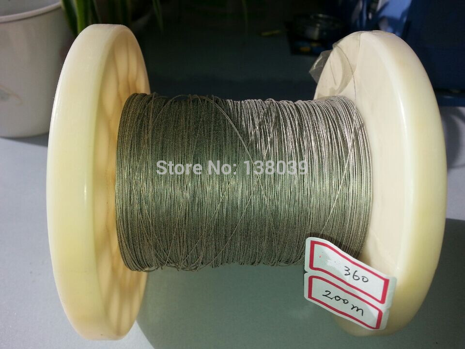 0.36mm Diamond Coated Cutting Wire For Precise Cutting 200meter A Lot  USD 115.0