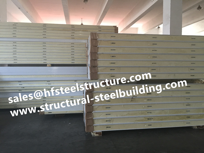 Galvanized Polyurethane Sandwich Panel Width 950mm, Insulation Material For Cold Storage And Freezer Room Pu Panel Price