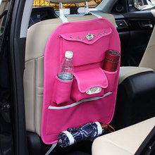 car seat back stowing tidying bag for women