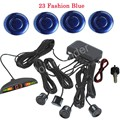 high quality 4 Sensors Kit Car Parking Radar System Parking sensor Reversing Radar Buzzer 44 colors to choose