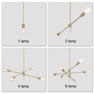 Image 5 - Nordic Modern Pendant Lights Long Pole Designer Pedant Lamps Ceiling Art Decoration Hanging Lamp Bar Dining Kitchen Living Room