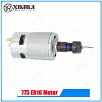 775 ER11 Motor High Speed Large Torque DC Motor Electric Tool Electric Machinery 12 36V 775