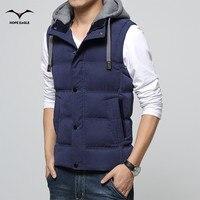 2016 Men S Vest Men Thicken Waistcoat Mens Jacket Sleeveless Veste Homme Winter Fashion Casual Coats