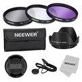 Neewer 55mm Professional Lens Filter Accessory Kit for Canon/Nikon/Sony/Samsung/Fujifilm/Pentax/55mm Filter Thread Camera Lenses