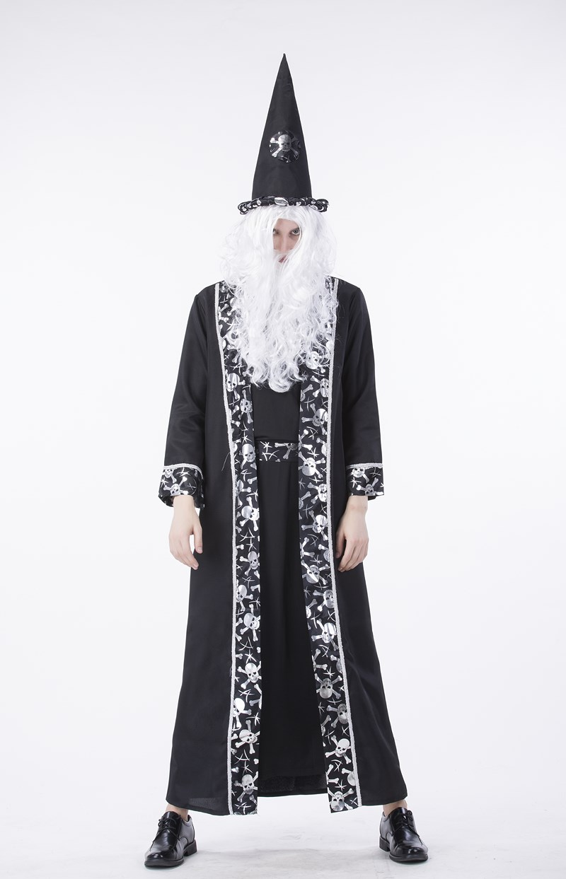 c321846fa9d 2017 New Arrive Halloween Adult Men's Sorcerers Religious Gothic ...