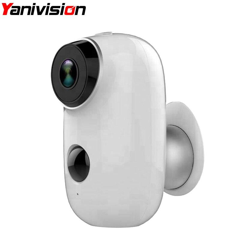 Wire-Free Wireless Battery IP Camera 720P HD Weatherproof Outdoor IP65 Home Security P2P PIR WiFi Camera with Battery IP Camera