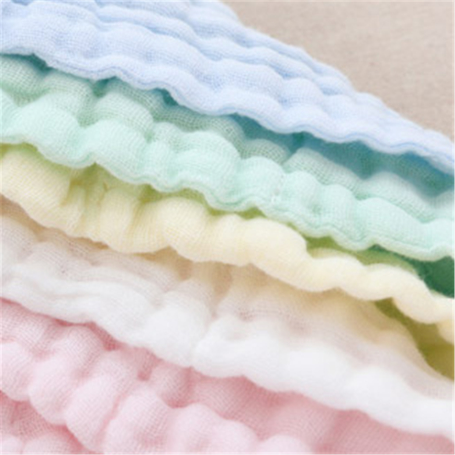 Soft Square Baby Towels Bath Handkerchief Luxury Striped Newborn Wipes 3 Pcs Comfortable Towel Newborn Cute 70A0144