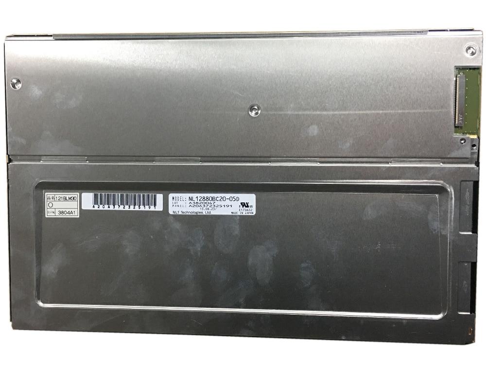 NL12880BC20-05D A3820047 A20A372325191 1280X800 TFT LCD nl12880bc20 05d 12 1 inch lcd display screen original 1280 800 made in japan a grade