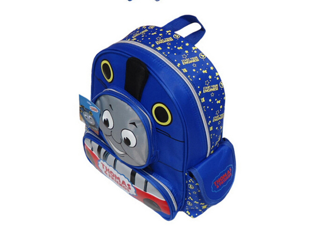 HOT SALE 2017 cute children cartoon bag school bag pattern Thomas children backpacks lovely bady school  bag free shipping