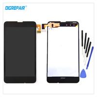 Black For Nokia Lumia 630 635 Cellphone LCD Display Touch Screen Digitizer Panel Assembly Replacement Parts