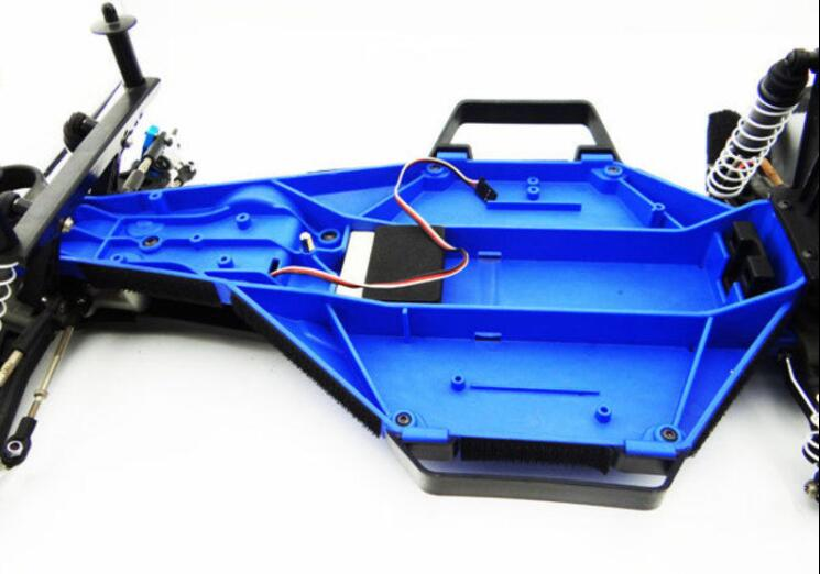 Hot Racing TE16LC06 Dirt Guard Chassis Cover Traxxas Slash 2WD LCG Chassis