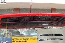 Карбоновые наклейки и наклейки с высокой установкой стоп-лампа для автомобиля Стайлинг чехол автомобильные аксессуары для 2018-2013 SKODA RAPID