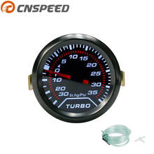 Бесплатная доставка CNSPEED 2 «52 мм Turbo Boost Gauge PSI дым циферблат белый свет Интерьер Dash датчик автомобиль метр YC100956