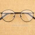 Roud marco Retro del Metal del estilo hombres ópticas mujeres la miopía Vintage Design Gafas Gafas De Grau Gafas Feminino Gafas