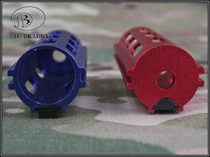 Image 2 - Emersongear Tactical Auminum CNC pełne stalowe zęby 14 zębów szybkobieżna przekładnia tłokowa AEG Airsoft akcesoria do zabawek