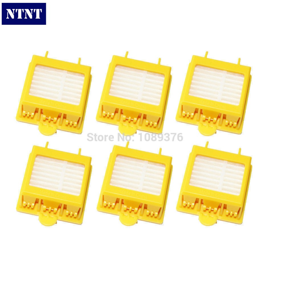 NTNT Free Post New 6 x Hepa Filter for iRobot Roomba 700 Series 760 770 780 ntnt free post 2 x hepa filter filters for irobot roomba 800 series 870 880 new