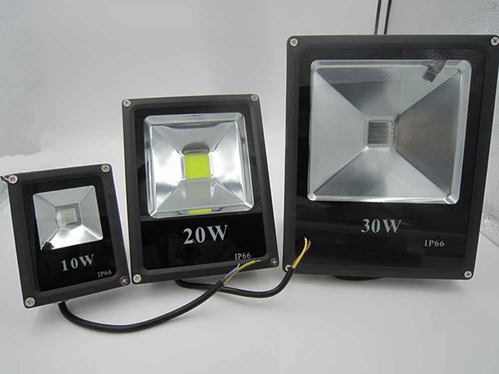 RGB LED Flood Light 10W 20W 30W 50W Foco LED Exterior Spotlight IP65 LED Outdoor Light R ...