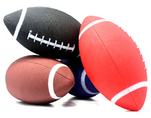 Buy 1 piece 6 American football rugby Rubber soft balls for child kids young men women