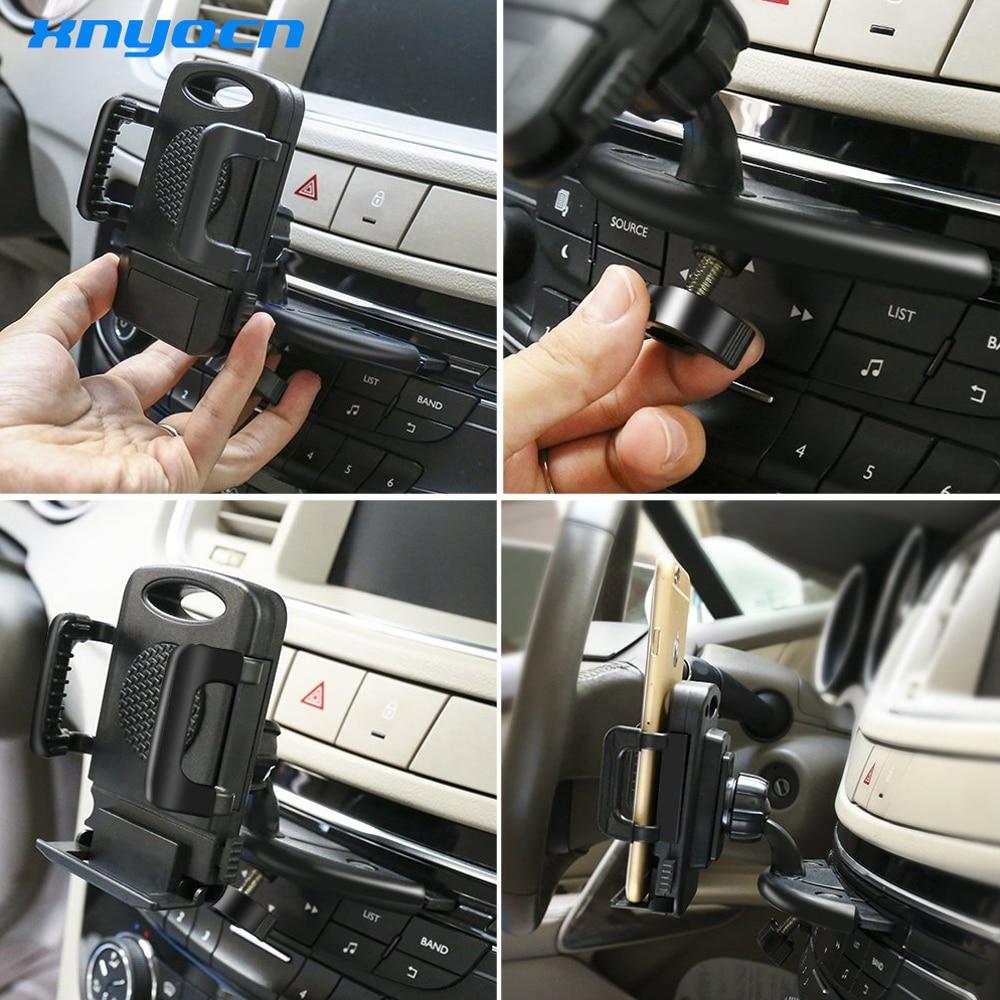 Telefon Autohalter Auto GPS-Halter CD-Halter Handy-Ständer - Handy-Zubehör und Ersatzteile - Foto 6