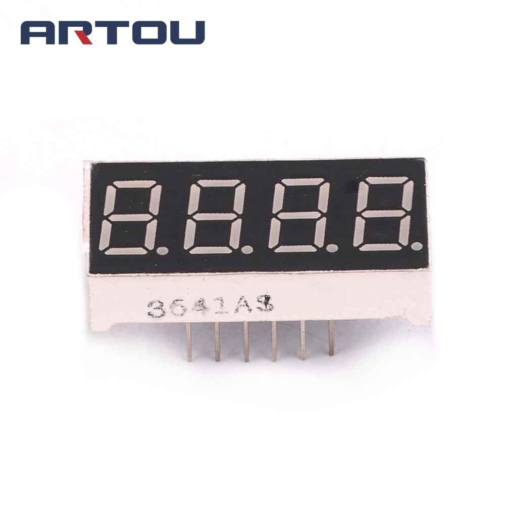 10PCS 4Bit Digital Tube 7 Segment 0.36