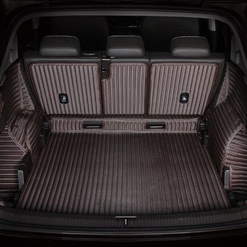 Full Surround Waterproof Carpets Durable Rugs Custom Special Car Trunk Mats For Hyundai Veloster IX55 Veracruz Genesis-Coupe