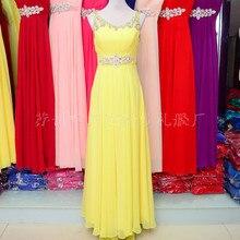 Дважды плеча щель декольте популярные: длинное вечернее платье вечернее платье невесты платье новое поступление TK522