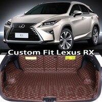 Custom fit floor mats for Lexus RX RX300 RX330 RX350 RX400h RX450 RX450h RX350F Toyota harrier car floor mats car trunk mats