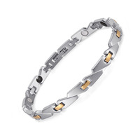 Men Magnetic Bracelets Arthritis Therapy Health Care Bracelets Fashion Hologram Jewelry for Men/ women