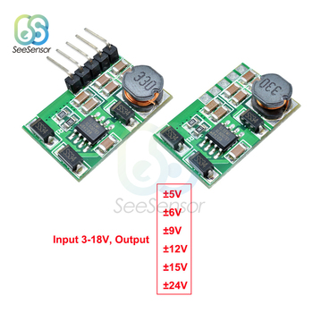 +- 5V 6V 9V 12V 15V 24V Positive Negative Dual Output Power Supply DC DC Step-up Boost Converter Module ADC DAC LCD Power Supply dc dc voltage converter positive to negative step down power supply boost buck module 3 15v to 3 3v 5v 6v 9v 12v 15v