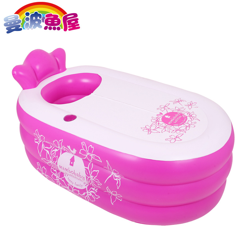 Inflatable Bath Tub Adults Plastic Bathtub For Adult