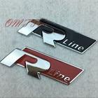 1pc 3D Metal Rline R line Emblem Car Stickers For VW Volkswagen Golf 5 6 7 MK6 MK7 Passat B5 B6 B7 Tiguan Polo Car Styling
