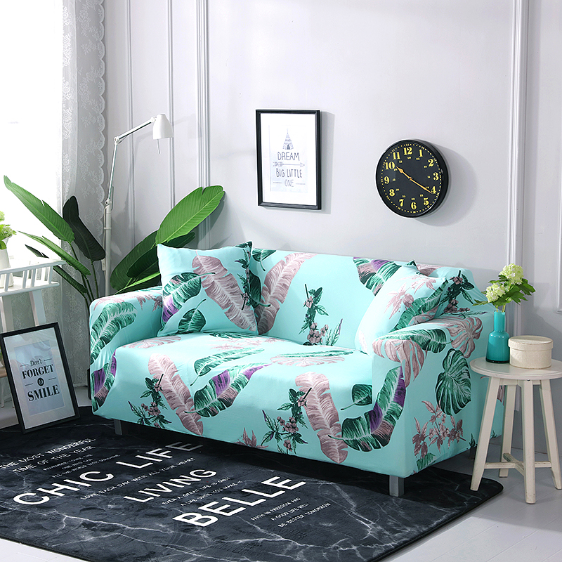 Three Four-seater Attractive Appearance Honesty Sofa Covers Line All-inclusive Elastic Stretch Couch Cover Sectional Cover L Shape Armchair Single Two