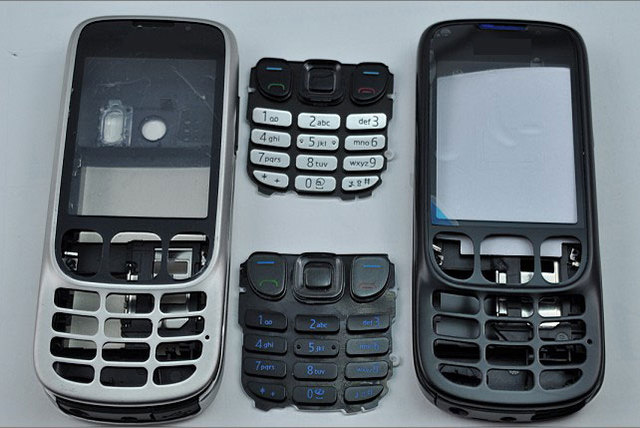 New Full Complete Mobile Phone Housing Cover Case+Enlish Keypad For Nokia 6303 6303c 6303ci