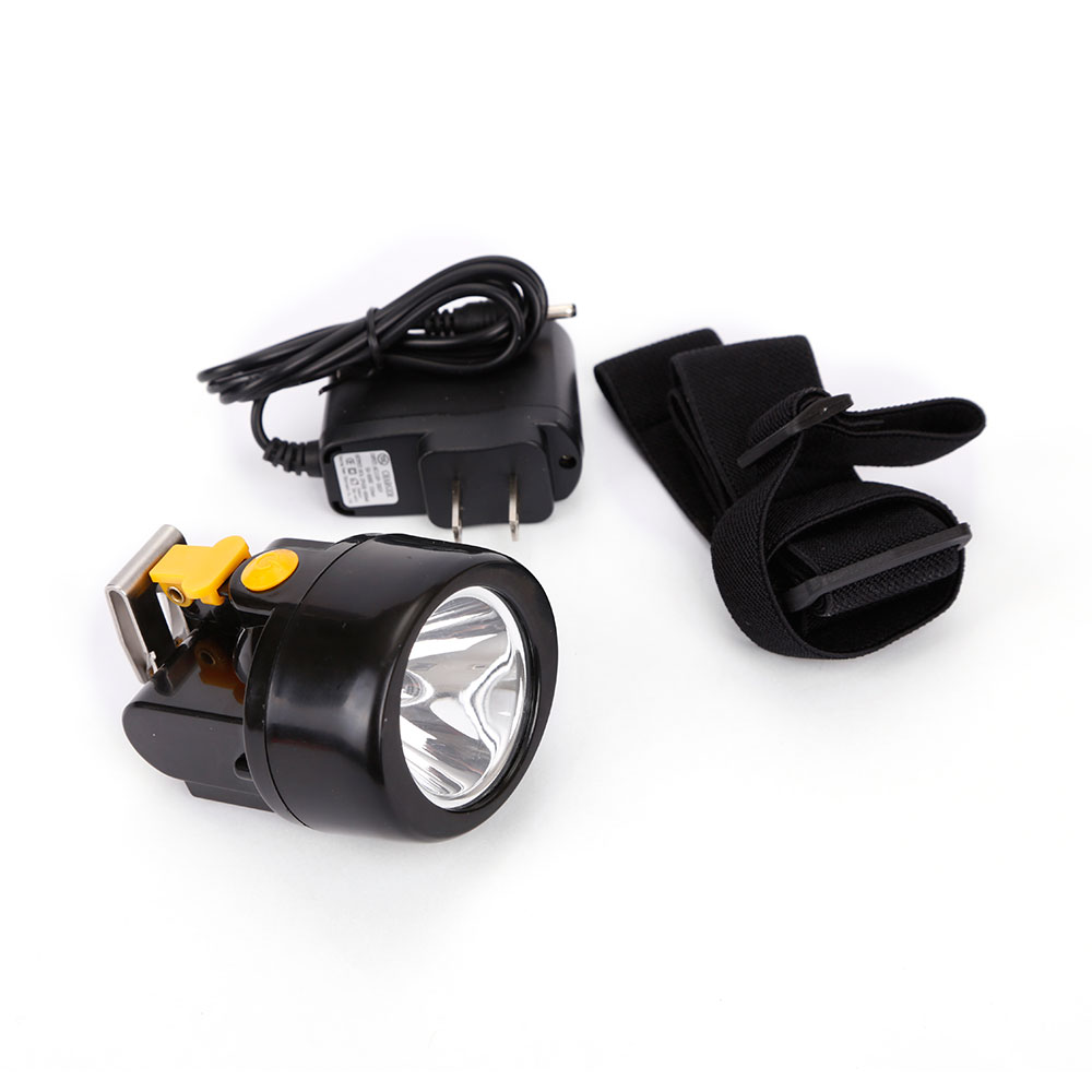 50pcs lot Wireless LED Mining Light KL3 0LM Waterproof Mining Headlamp Explosion Rroof Mining Cap Lamp Rechargeable Headlight in Headlamps from Lights Lighting