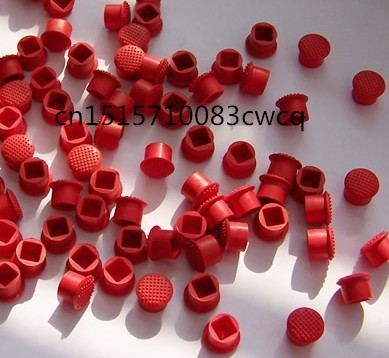 Novo 100x para lenovo oem thinkpad trackpoint boné vermelho mouse ponteiro 100 pces