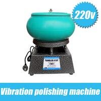 Free Shipping Hot Vibratory Polishing Machine Vibrating Rock Tumbler Vibratory Tumbler