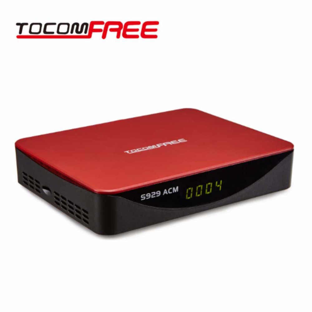 RocomfreeSet Top Box Rocomfree S929 ACM USB WiFi FTA DVB-S/S2 IKS+SKS IPTV  Satellite TV Receiver for South America Chile Brazil free forever nusky n3gsi nusky n3gst south america satellite receiver with iks sks free better than tocomfree s929 plus