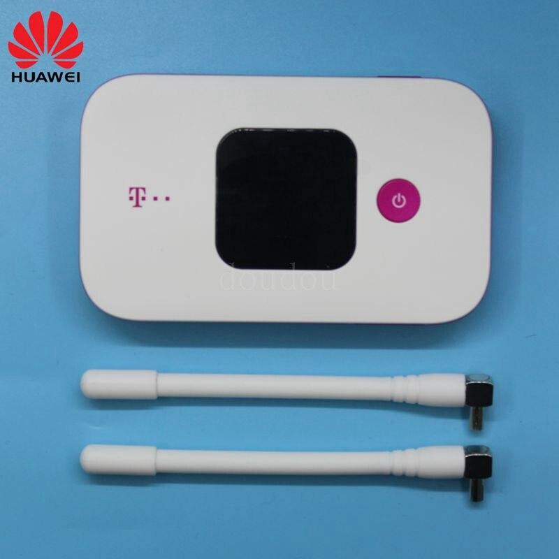 Unlocked New HUAWEI E5577 avec Antenne 4G LTE Cat4 E5577Cs-321 1500 dessinée de Hotspot Sans Fil routeur wifi Poche mifi PK E5573