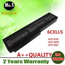 LMDTK Nueva 6 celdas de batería del ordenador portátil Para ASUS G50 G50VT G51J G60 M50Q L50 M50 M51 M60 M70 A32-M50 A32-H36 A33-M50 A32-X64 N61 A32-N61