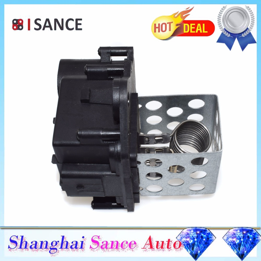 Isance Radiator Blower Motor Resistor 9659799080 9673999880 For On The Next Page How Works Peugeot Citroen 107 206 206sw 307 307sw 307cc Partner Berlingo In Air Conditioning