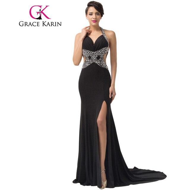 Elegant Prom Dresses Long Back Less