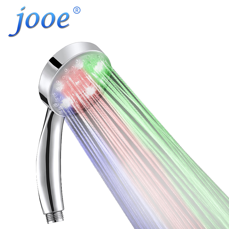 Jooe led shower head romantic color changing high