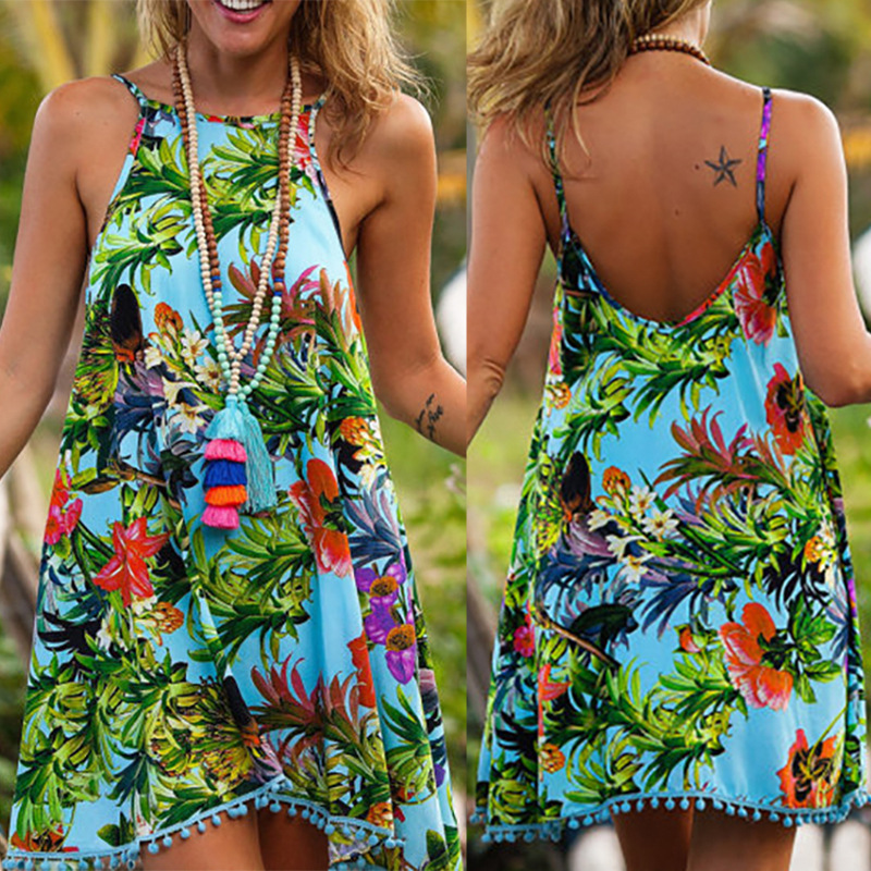 Summer Women Swimsuit Cover Up Beach Cover Ups Tassels Dress Elegant Beach Bathing Suit