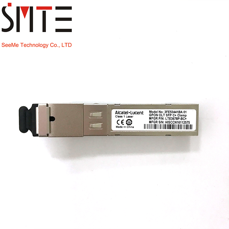Alcatel GPON OLT SFP C + LTE3678P-BC + 3FE53441BA 01Alcatel GPON OLT SFP C + LTE3678P-BC + 3FE53441BA 01