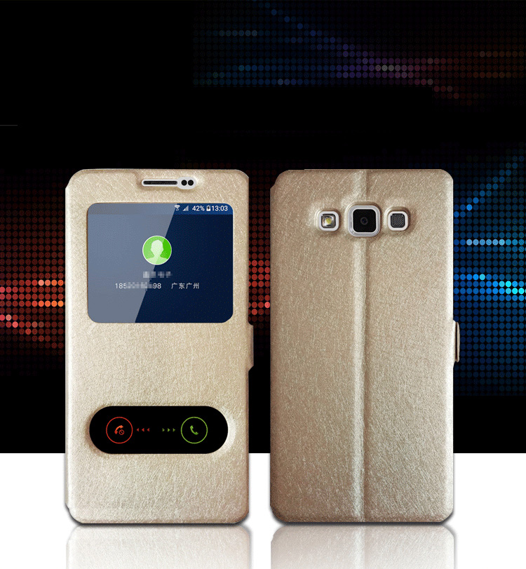Phone case para samsung galaxy j1 j2 j3 j5 j7 2015 o  o 2017 Ver Cubierta de Dob