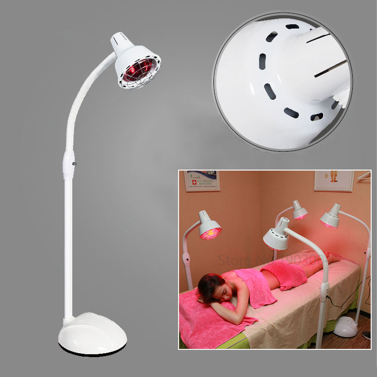 220v Temperature Adjustable 275w Infrared Heat Lamp For Muscle Pain And Cold Relief Light