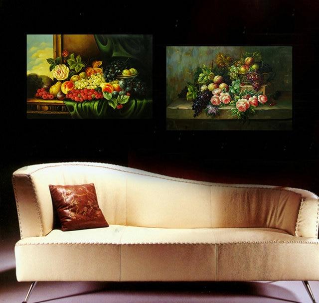 panel modern impreso cocina pintura cuadros decoracion frutas y verduras pared pictures para sala de