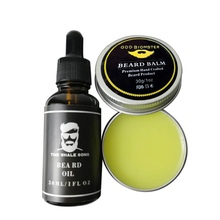 Men Moustache Cream Beard Oil Kit Wax Balm Hair Loss Products Leave-In Conditioner for Groomed Growth Styling CS76