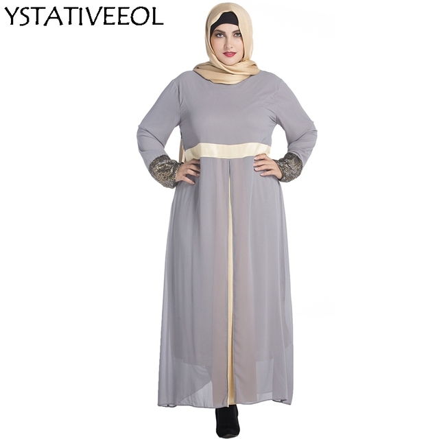 bdfcec8ea7b3b1 Women Embroidery long sleeve muslim arabic dress turkish gown Dubai moroccan  Kaftan Islamic Abaya muslim clothing jalabiya